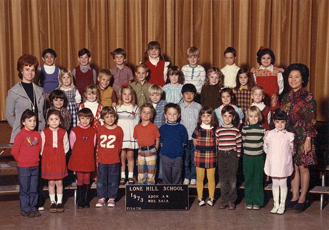 lone hill school 1973